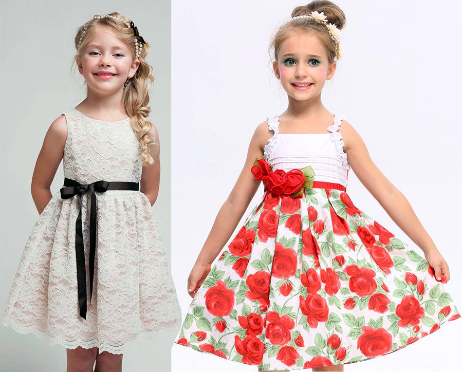 Дитячі літні плаття для дівчаток  bfe2f07a60c99