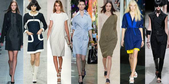 Модні офісні плаття весна літо 2014