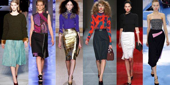 Юбки Мода 2014