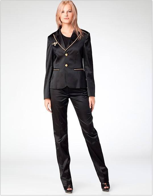 Жіночі модні костюми 2014 фото