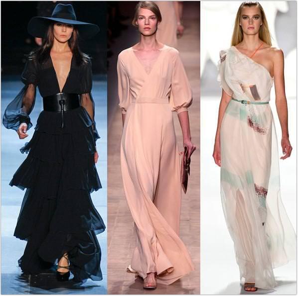 Модні класичні плаття весна літо 2013