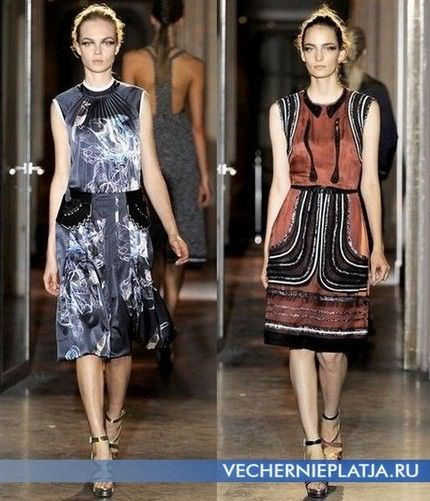 Модні плаття весна літо 2012