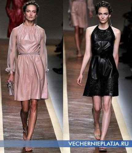 Плаття весна-літо 2012 - модні і актуальні тканини.