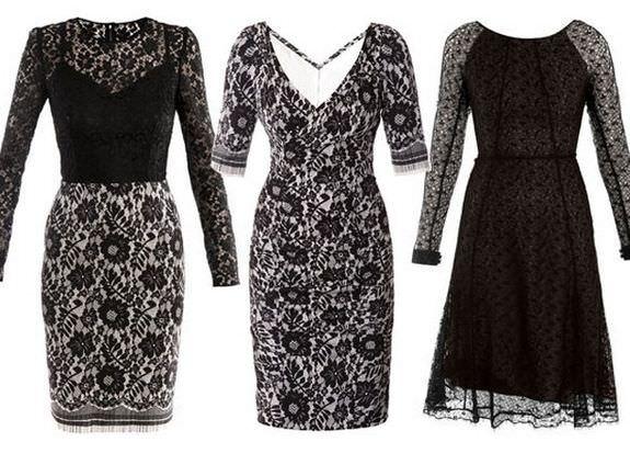 096394e76ac62d Модні гіпюрові плаття 2012 | Femme