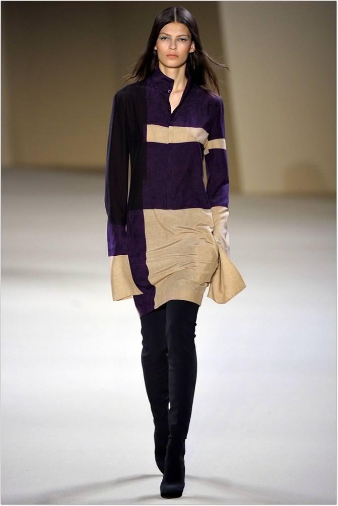 Модні трикотажні плаття 2013